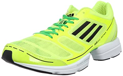 the best attitude 74a87 b56bc Image Unavailable. New Mens Adidas Adizero Feather Yellow ...