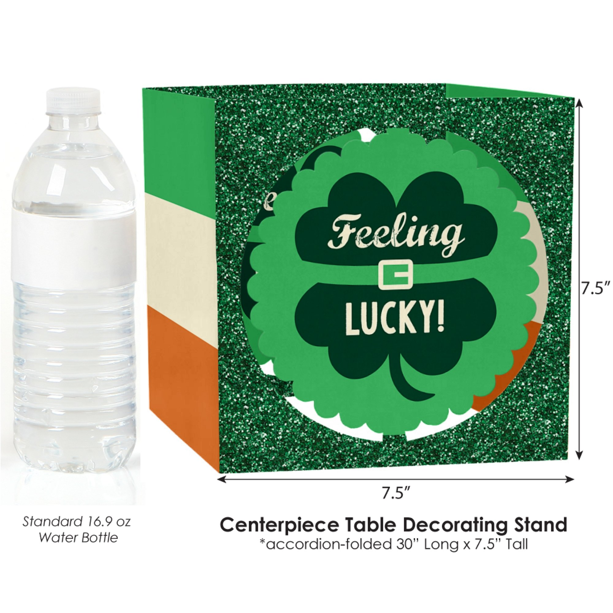Big Dot of Happiness St. Patrick's Day - Saint Patty's Day Party Centerpiece & Table Decoration Kit by Big Dot of Happiness (Image #4)