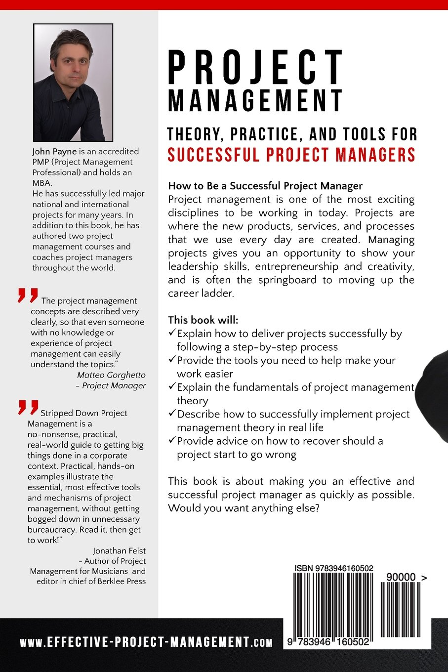 amazon com stripped down project management theory practice amazon com stripped down project management theory practice and tools for successful project managers 9783946160502 john payne books