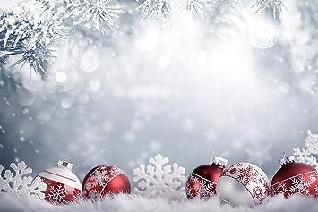 Hintergrund Weihnachten.Waw 2 2x1 5m Fantasy Schneeflocke Hintergrund Weihnachten Kugeln Winter Weihnacht Hintergrunde Urlaub Baby Fotoshooting