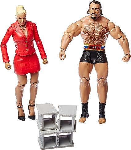 WWE Battle Pack Series 34 Action Figures - Lana & Rusev: Amazon.es: Juguetes y juegos