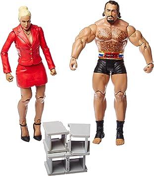 WWE Battle Pack Series 34 Action Figures - Lana & Rusev: Amazon.es ...