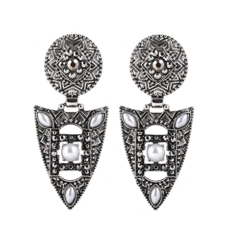 Fuschia /& Silver Colour Necklace CJN014