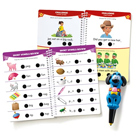 Workbook free phonics worksheets : Amazon.com : Educational Insights Hot Dots Jr. Let's Master ...