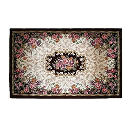 Amazon Com Hihome Flowers Doormats Non Slip Outdoor Door Mats