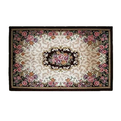 Amazon Com Hihome Flowers Doormats Non Slip Outdoor Door Mats