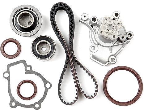 SCITOO Engine Timing Belt Kit Fits 2007 208 2009 2010 2011 2012 Hyundai Elantra//2010 2011 Kia Soul 2.0L G4GC G4GF