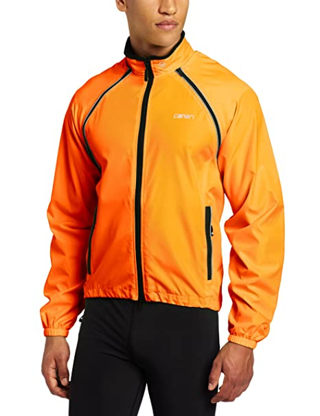 Medium CANARI Mens Eclipse Convertible Jacket Killer Yellow