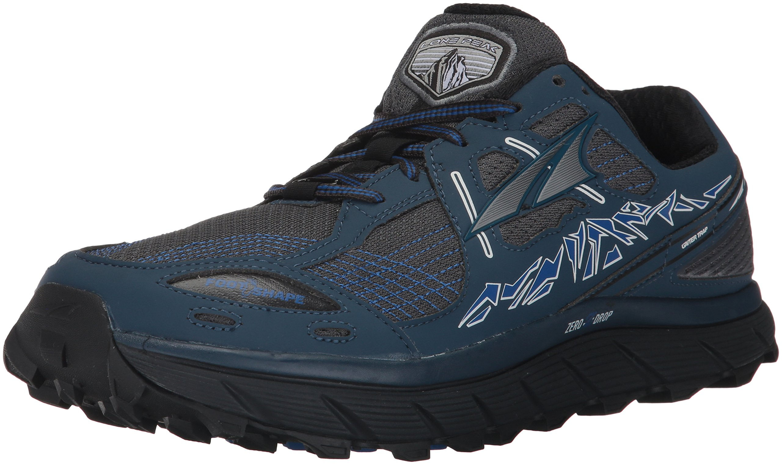 Altra Men's Lone Peak 3.5 Running Shoe, Blue, 13 D US