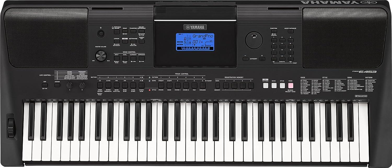 Yamaha PSR-E453 - Teclado electrónico portátil con 61 teclas, color negro: Amazon.es: Instrumentos musicales