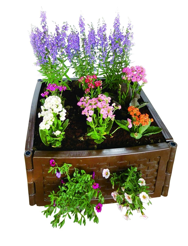 UPP® Multifunción Bancal flexible & ampliable/compostador/caja de arena/semillero/Flores/Cultivo Bancal/Sistema Bancal: Amazon.es: Jardín