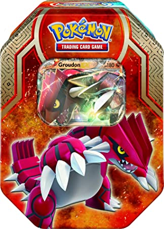 Pokemon TCG XY5 Spring Tin - Legends of Hoenn Groudon-EX / Kyogre-EX