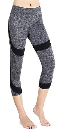 Sugar Pocket Leggings 3 4 Cpari Leggings Collant de Femme pour Jogging Danse  et Entraînement aef8f7b068b