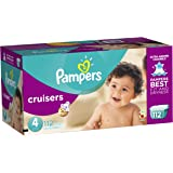 Pampers Cruisers Diapers - Size 4 - 112 ct