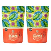 Aduna 100% Organic Baobab Superfruit Powder 275g (2 Pack) (2 Pack)