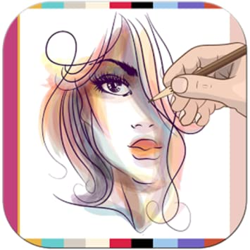 Amazon Com Apps Girls Draw Hairstyles Appstore For Android