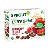 Amazon Price History for:Sprout Organic Baby Food, Sprout Crispy Chews Organic Toddler Snacks, Red Berry & Beet, 3.15 Ounce (5 count)