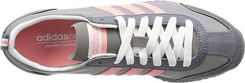 adidas VS Jog W, Chaussures de Sport Femme, Gris (Gris