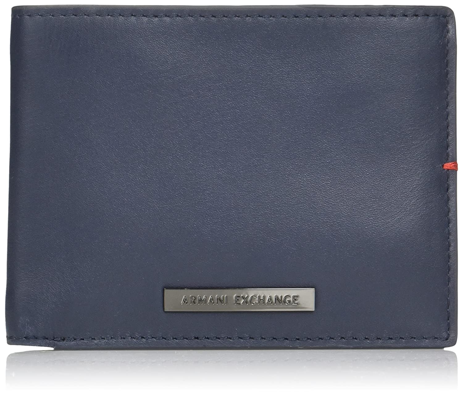 wholesale dealer 4f033 566d5 Armani Exchange Men's Tri Fold Solid Wallet