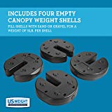 US Weight Fillable Tailgater Canopy Weights with