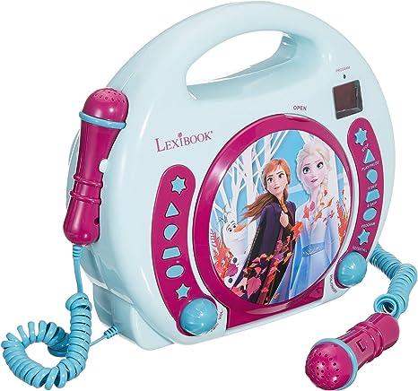 LEXiBOOK Disney Frozen Anna And Elsa CD Playe