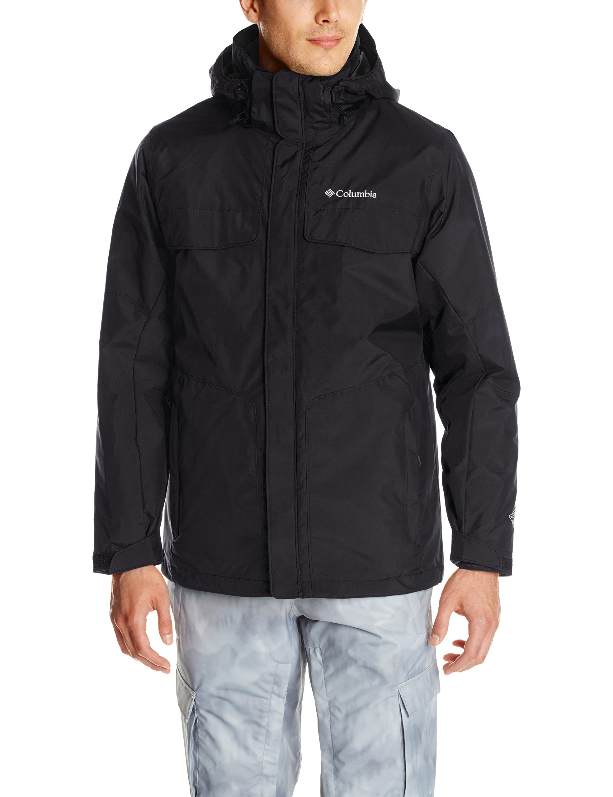 Columbia Men's Bugaboo Interchange Jacket, Black, Medium