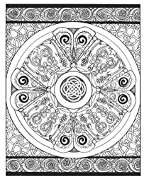 Amazon.com: Creative Haven Celtic Designs Coloring Book