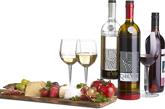 Clear Red Wine Edition QikVin Wine Preservation System