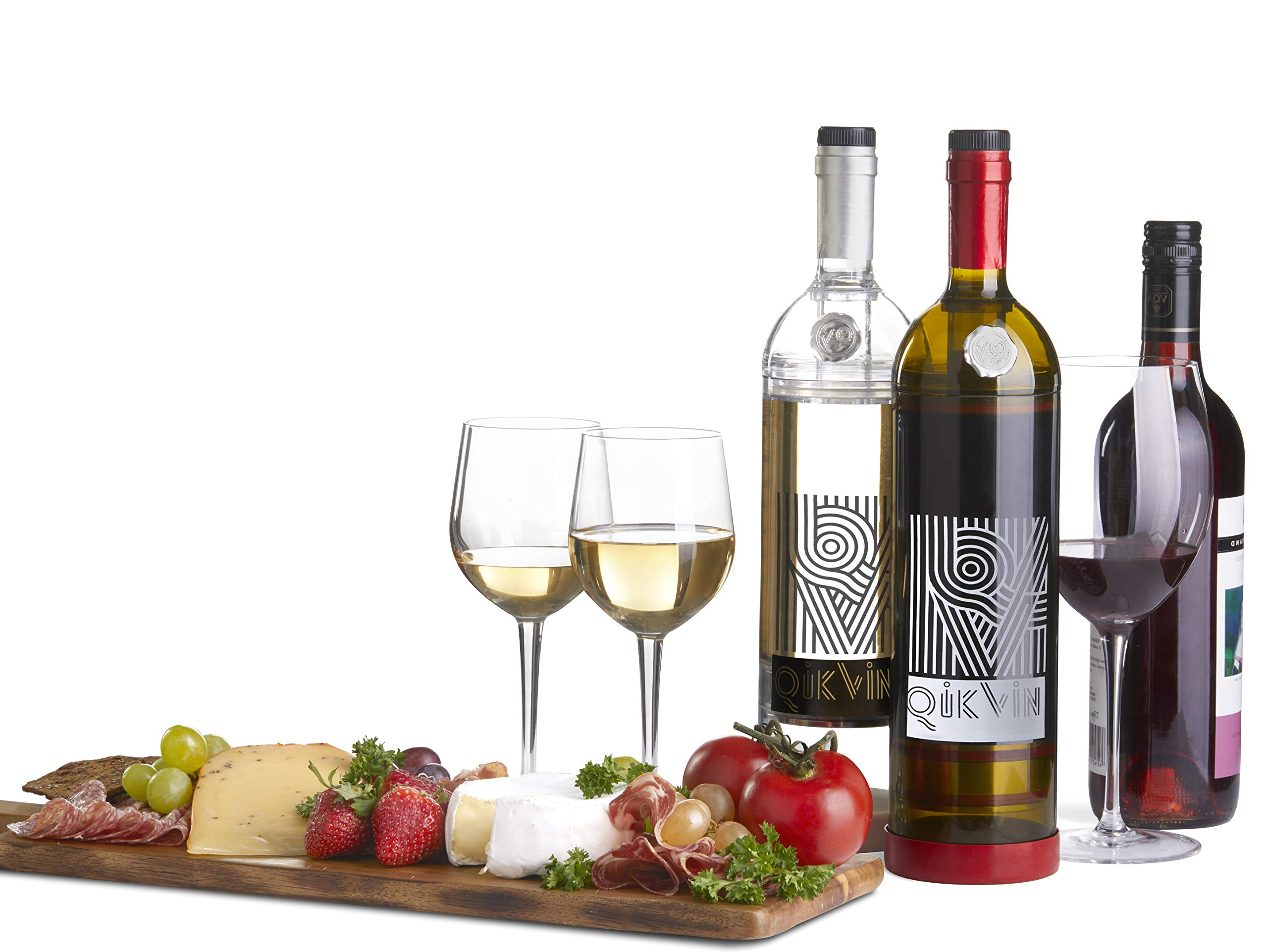 QikVin Wine Preservation System -Green All Wine Edition by QIKVIN RAISING WINE TO NEW HEIGHTS! (Image #6)