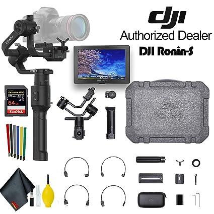 DJI Ronin-S Essentials Kit estabilizador cardán de 3 Ejes para ...