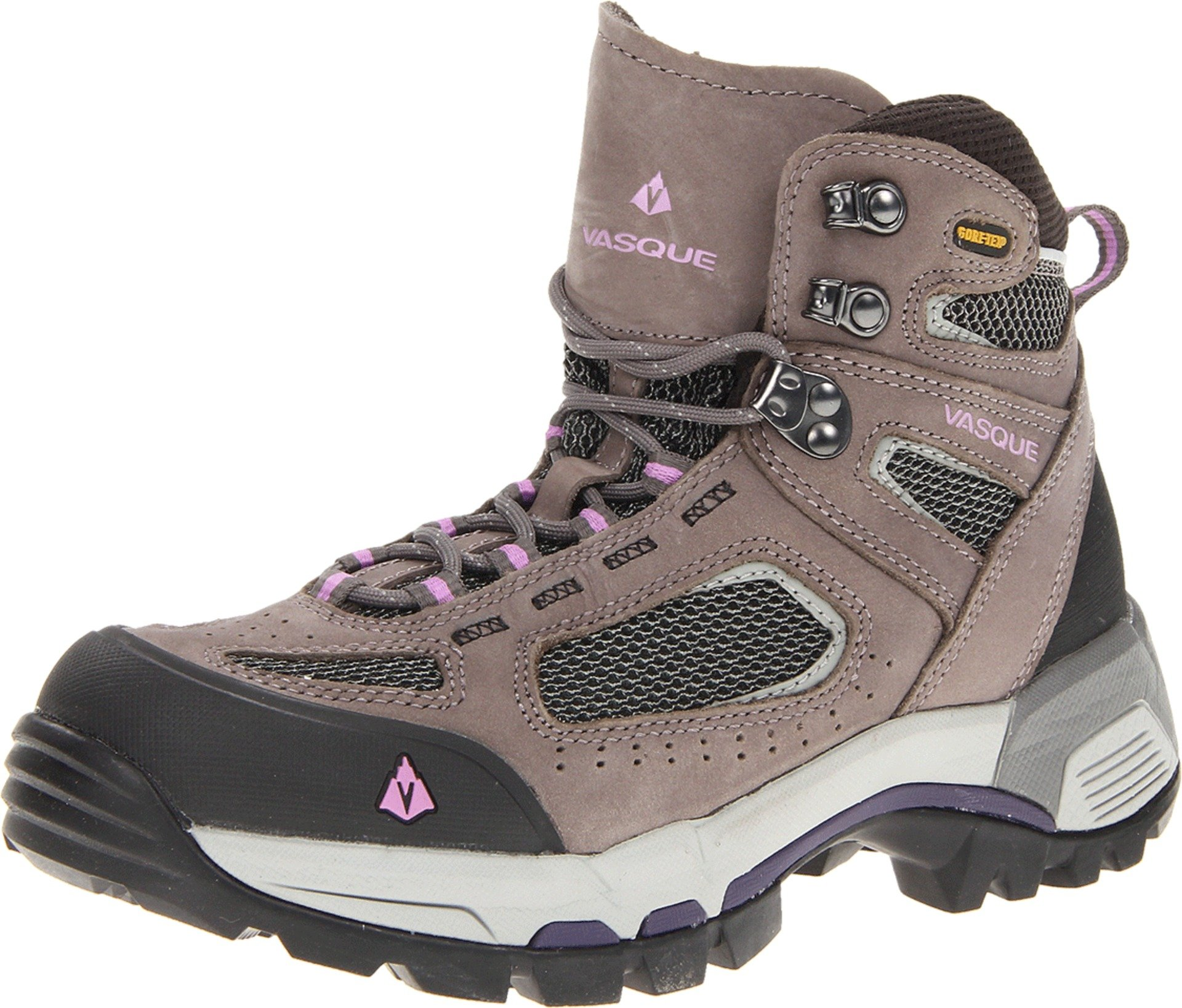 Vasque Women's Breeze 2.0 Gore-Tex Hiking Boot, Gargoyle/African Violet,7.5 M US