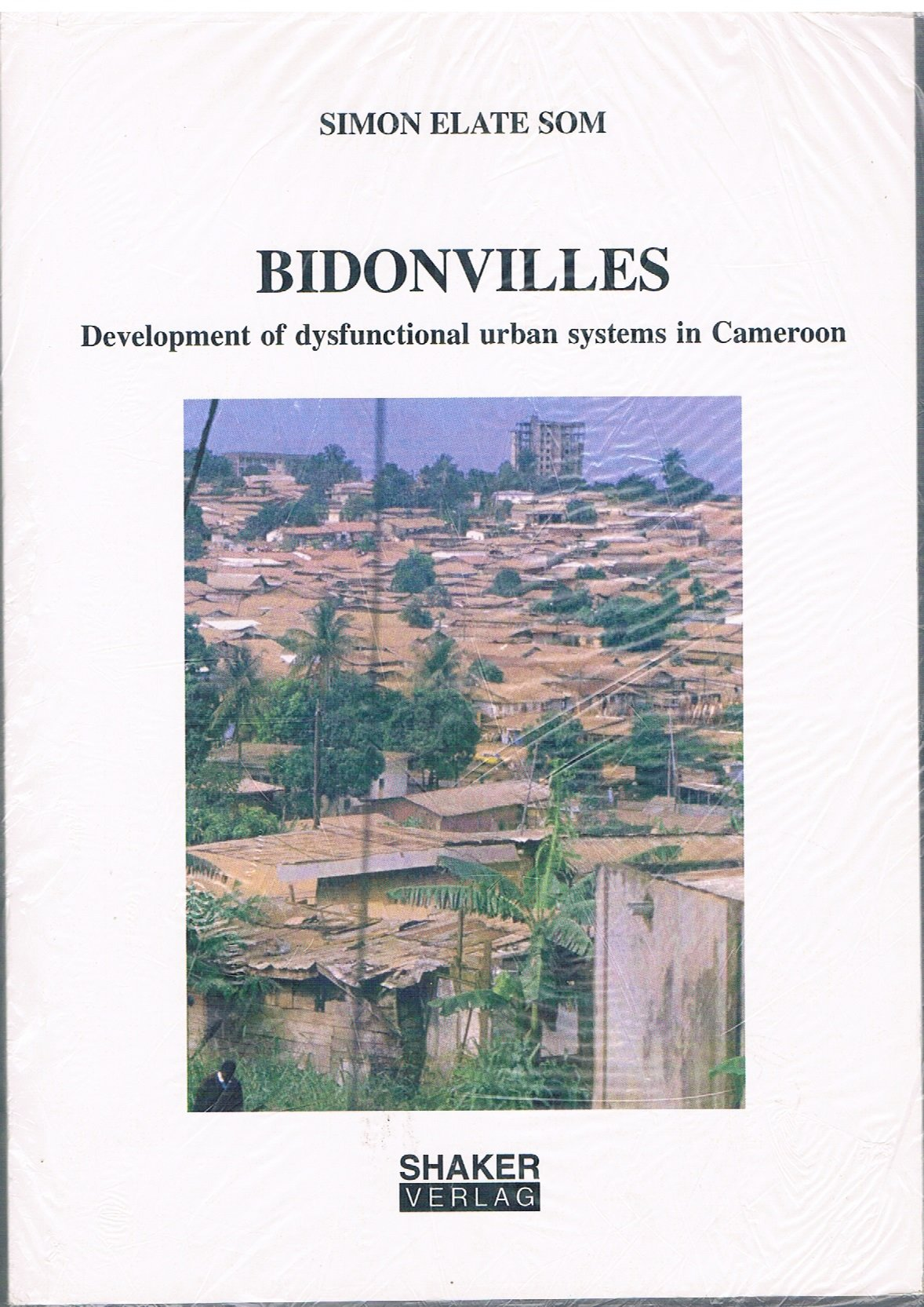 Download Bidonvilles: Development of Dysfunctional Urban Systems in Cameroon PDF