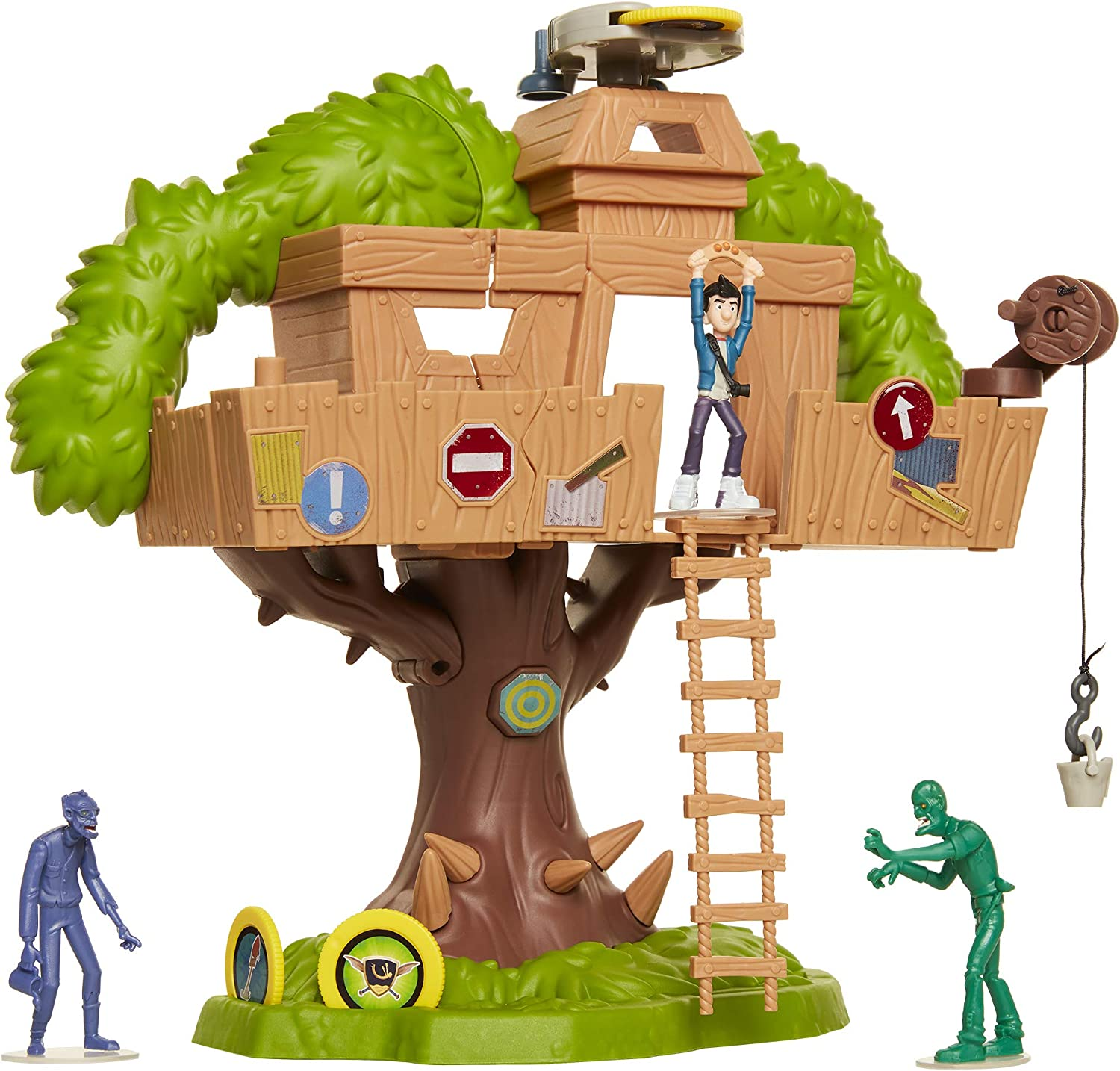 Amazon Com The Last Kids On Earth Tree House Of Awesomeness Playset Includes Exclusive Jack Action Figure 2 Zombies Toys Games Learn your english nursery rhymes сезон 4 • серия 1. the last kids on earth tree house of awesomeness playset includes exclusive jack action figure 2 zombies