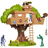 The Last Kids On Earth - Tree House of Awesomeness Playset, Includes Exclusive Jack Action Figure & 2 Zombies