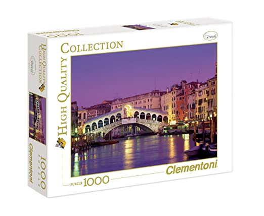 136 opinioni per Clementoni Puzzle 39068- Rialto Bridge- 1000 pezzi High Quality Collection