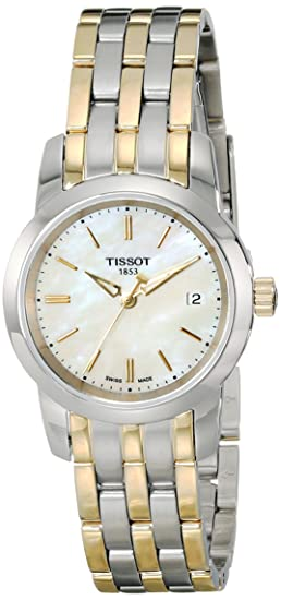 TISSOT RELOJ DE MUJER CUARZO 28MM CORREA Y CAJA DE ACERO T0332102211100: Amazon.es: Relojes