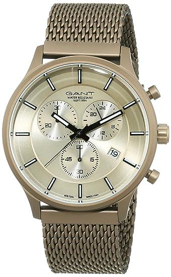 GANT Time Hombre Reloj de pulsera analógico cuarzo acero inoxidable gt002002: Amazon.es: Relojes