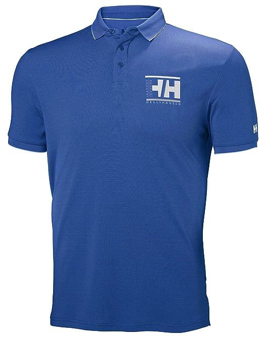 Helly Hansen Polo Racing Azul Hombre: Amazon.es: Ropa y accesorios