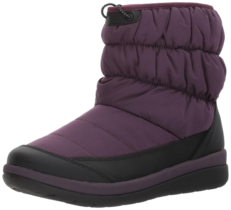 CLARKS Women's Cabrini Bay Snow Boot B01N5KH0CW 9.5 W US|Aubergine