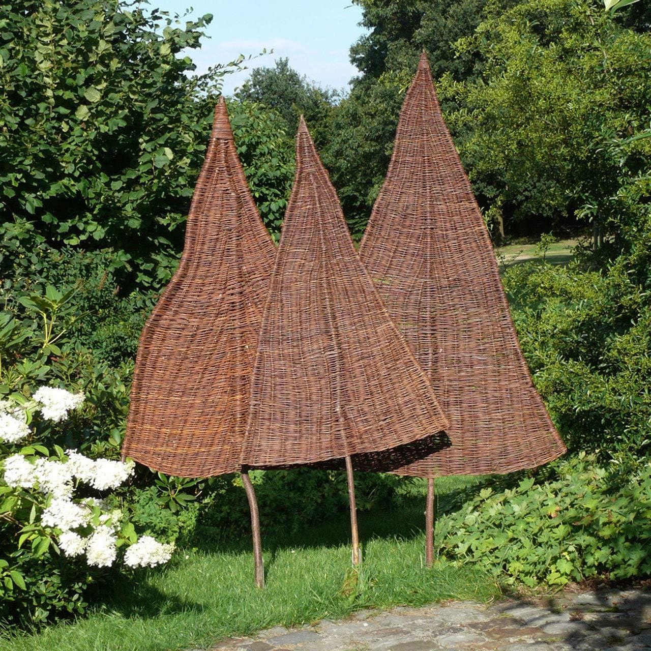 Videx Sichtschutz Weidenbaum Tanne Gross Natur Ca B 110cm X H
