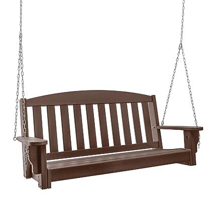Fabulous Amazon Com Original Pawleys Island Durawood Bench Porch Lamtechconsult Wood Chair Design Ideas Lamtechconsultcom