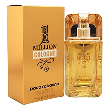 Amazoncom Paco Rabanne 1 Million Cologne Eau De Toilette Spray