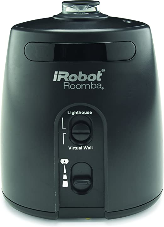 Irobot 81002 - Pared virtual para robot aspirador Roomba 581, color negro: Amazon.es: Hogar