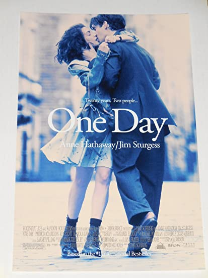 amazon com one day movie poster teaser flyer 11 x 17 2011