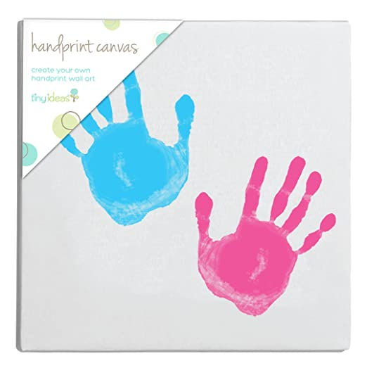 Tiny Ideas DIY Handaprint Ready to Hang Art Kit