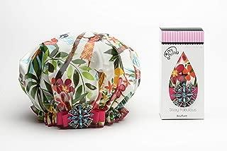 product image for Dry Divas Tropical Twist Bouffant Shower Cap