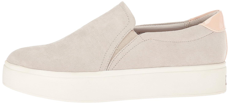Dr. Scholl's Shoes Women's Kinney Fashion Sneaker B074N8Q1T1 6.5 B(M) US|Greige Microfiber