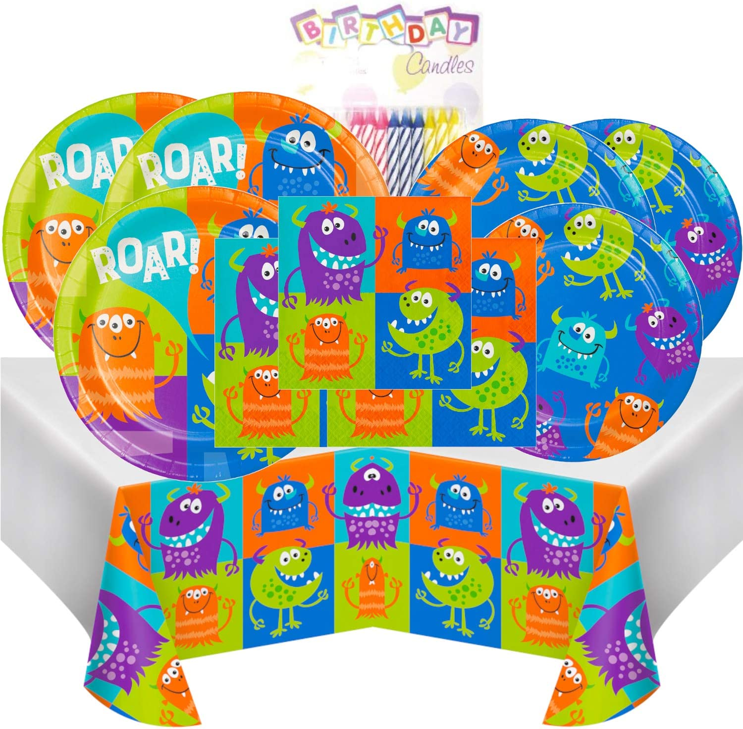 Fun Monsters Coordinating Party Supplies by Creative Converting