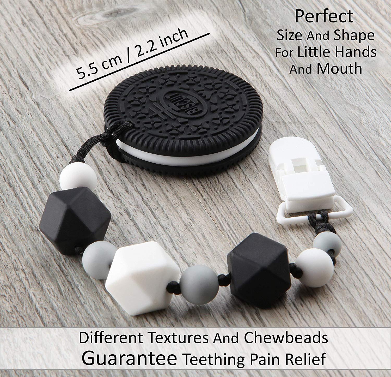 Amazon.com: Clip para chupete y juguete para dentición ...