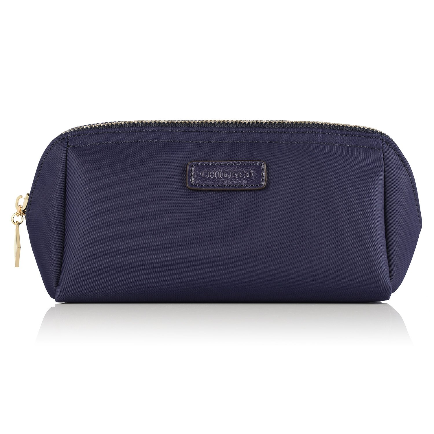 CHICECO Handy Cosmetic Pouch Clutch Makeup Bag - Navy Blue by CHICECO (Image #3)